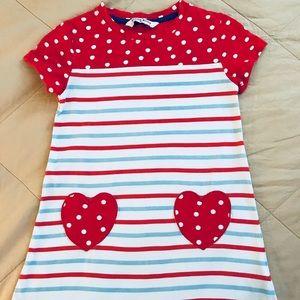 Other - Polka dot heart shirt dress.